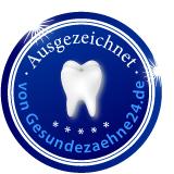 Zahnarztpraxis Korkut Berdi Auszeichnung